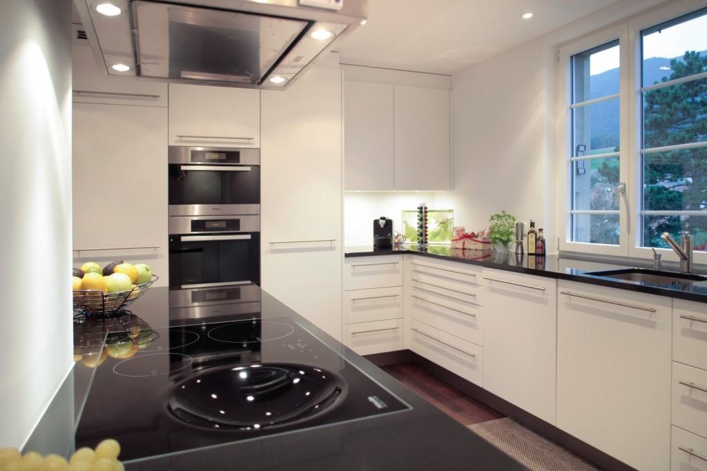 projekt k chens ule sp ti innenausbau. Black Bedroom Furniture Sets. Home Design Ideas