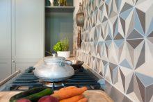 Rückwand Keramikplatten-Mosaik